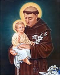 Святий Антоній з Падуї - покровитель подружніх пар.