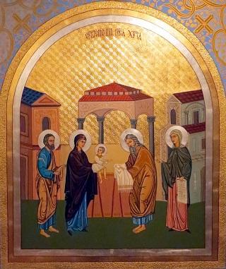 Слово про Стрітення Господнє і про очищення Пречистої Діви Богородиці