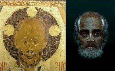 Вчені відновили зовнішність Святителя й чудотворця Миколая  за його мощами.