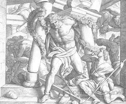 Запилена святість. Книга Суддів. Самсон.