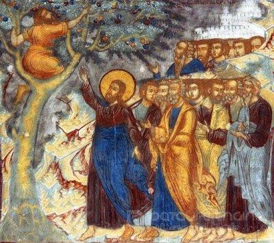 Ісус у Закхея