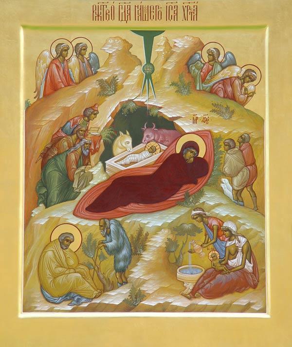 Прочитай ікону Різдва Христового!