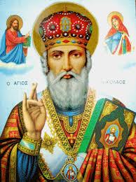 Святий Миколай, архиєпископ Мир Ликійських, чудотворець