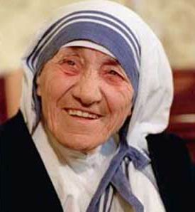 Поради для щасливого життя від Матері Терези