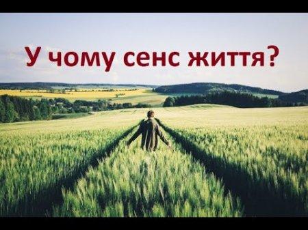 Як віднайти сенс життя? - о.Дмитро Польовий